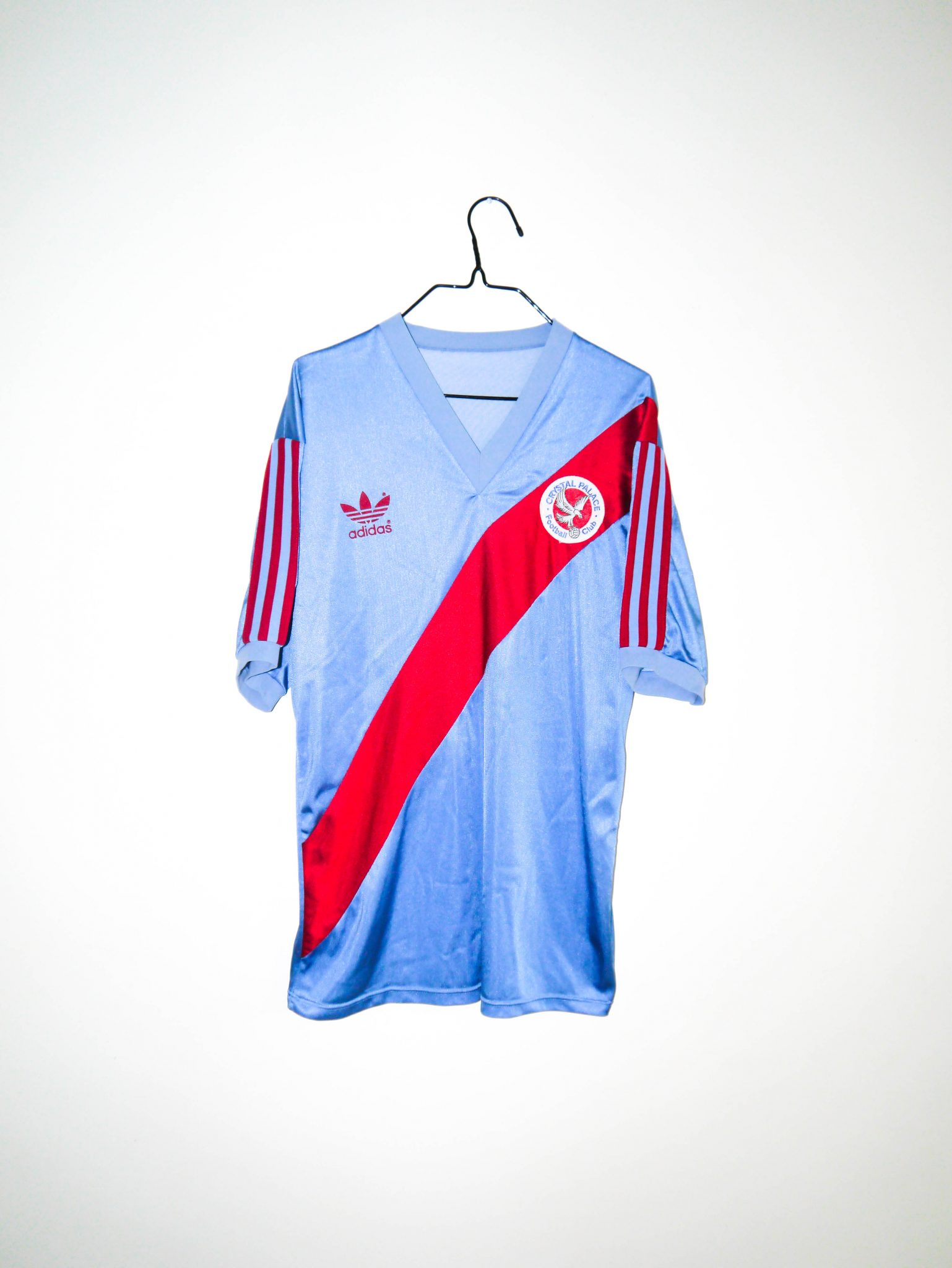 240f60261 Home / Shop / English Clubs / Crystal Palace / Original 1980-93 Crystal  Palace away jersey – M