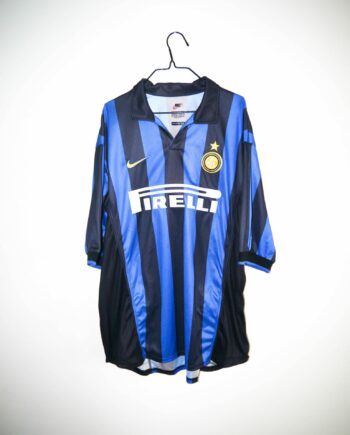 d8d0df0c0 Original 1998-99 Inter Milan home jersey – XL