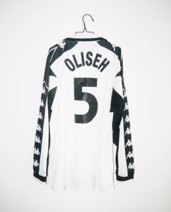 104efa634 Original 1999-00 Juventus  MATCH ISSUE  (OLISEH  5) third jersey – XL