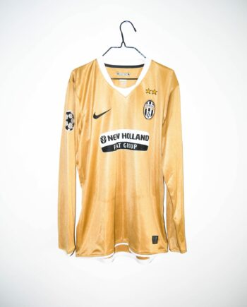 18b36be23 Original 2008-09 Juventus  MATCH ISSUE  (MARCHIONNI  32) away jersey – XL