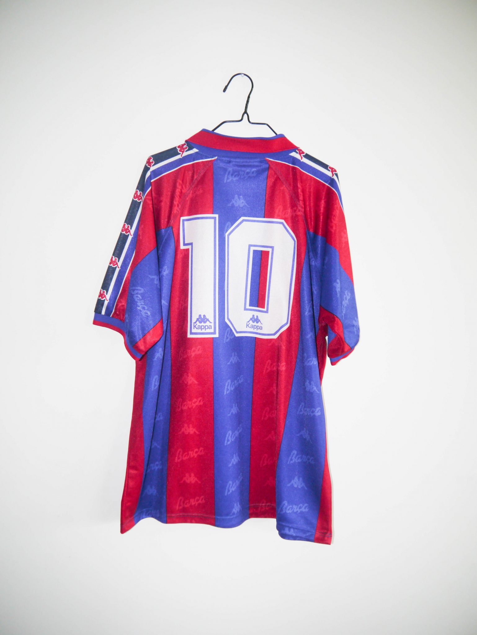 buy online 306be 8d328 Original 1995-96 FC Barcelona *PLAYER ISSUE* home jersey (#10) - XL